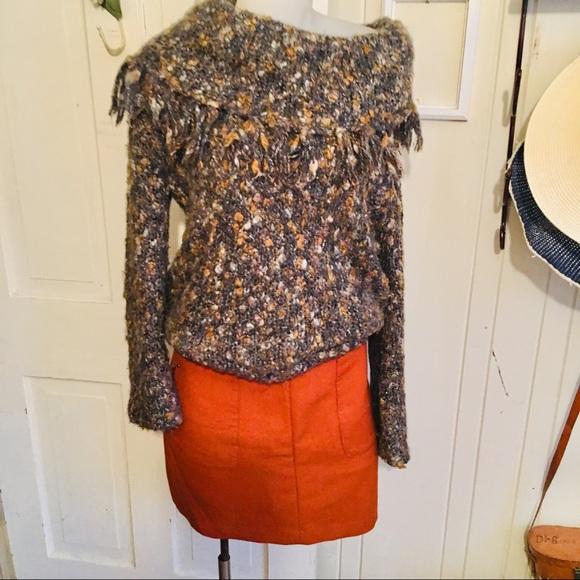H&M Dresses & Skirts - H&M Mini Skirt -8 orange poly blend, runs small